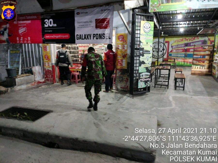 Binmas Polsek Kolam menghimbau warga
