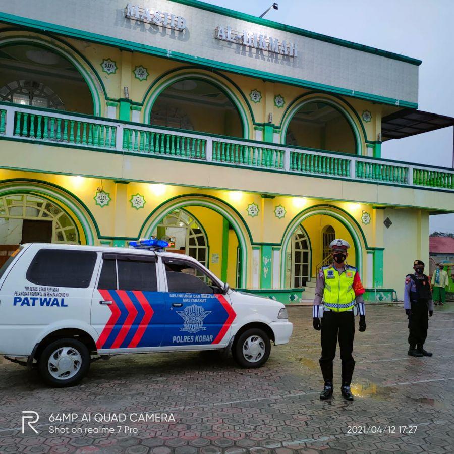 Laksanakan Blue Patrol dalam Menyambut Bulan Ramadhan