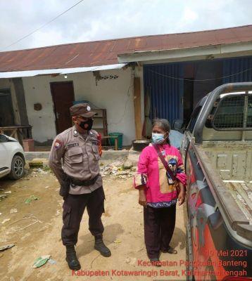 Anggota Polsek Pangkalan Banteng Lakukan giat Sialaturahmi