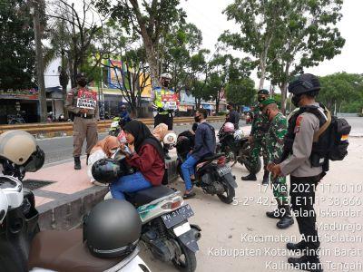 Bundaran Pancasila Patroli Jalan Kaki