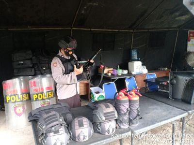 Keamanan KPU , Anggota pos PAM KPU Laksanakan Patroli