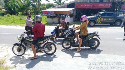 Operasi Yustisi covid 19 bersama Trantib, TNI dan Polri