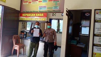 Pelayanan PRIMA di Polisi Terima Kedatangan Warganya Yang Membuat LKB