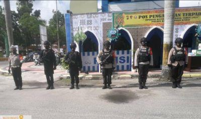 Pengamanan Operasi Ketupat Tebalang Idul Fitri 1442 H