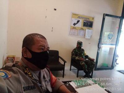 penyekatan arus balik di Bandara Iskandar