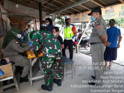 Polres Laksanakan Operasi Yustisi bersama TNI dan Satpol-PP