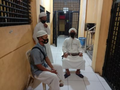Pembinaan Rohani tahanan sat Tahti Polres Kobar  Dilakukan Secara Rutin