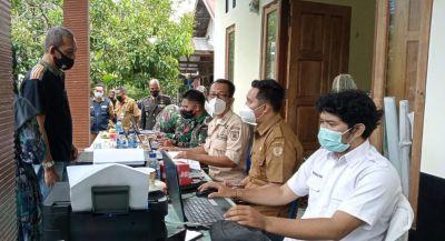 Sambut HUT Ke-76 TNI, Kodim 1002/HST Gelar Serbuan Vaksinasi