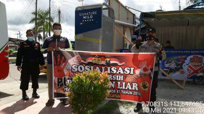Sosialisasi anti Pungli Kepada Warga Seputaran Kota Pangkalan Bun
