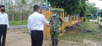 Sosialisasi Rekrutmen TNI AD, dengan terapkan Prokes