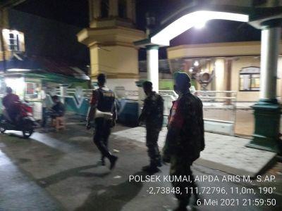 TNI POLRI lakukan Pengamanan Ibadah shalat tarawih
